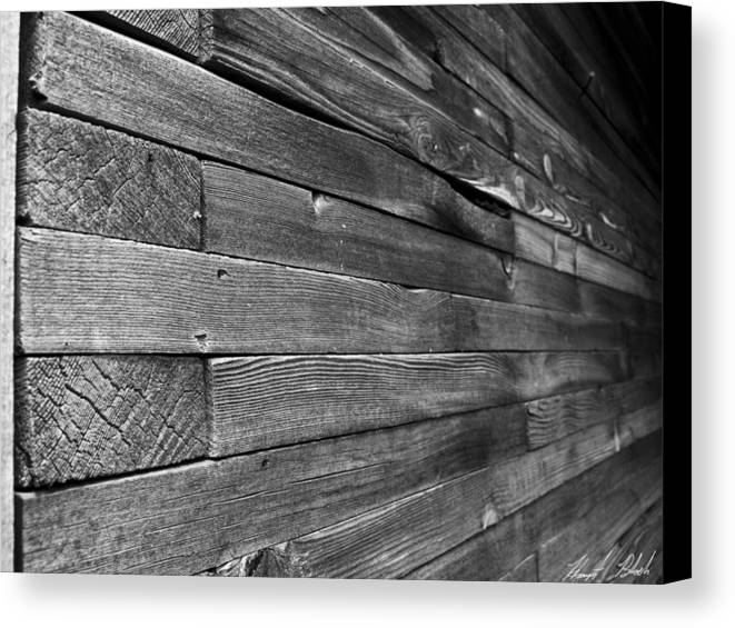 Wood Canvas Print featuring the photograph Weathered Wood by Hunter B