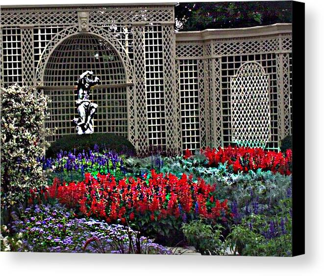 Flowers Canvas Print featuring the photograph Kingwood Center by Crystal Webb