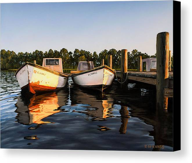 Boat Canvas Print featuring the painting Prime Of Life by Rick McKinney