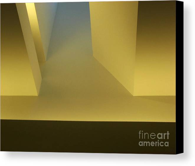 Yellow Canvas Print featuring the photograph Above Series 4.0 by Dana DiPasquale