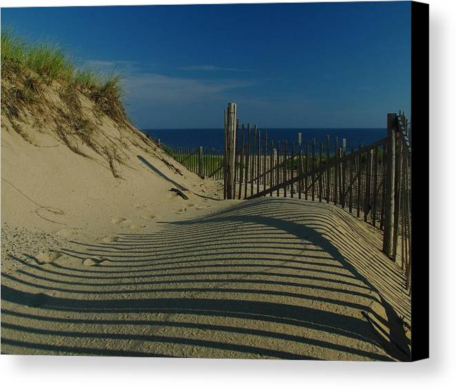Cape Cod Beaches Canvas Print featuring the photograph Cape Cod National Seashore by Juergen Roth