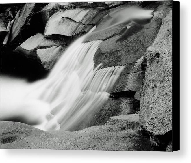 Landscape Canvas Print featuring the photograph Cascade 2 by Allan McConnell