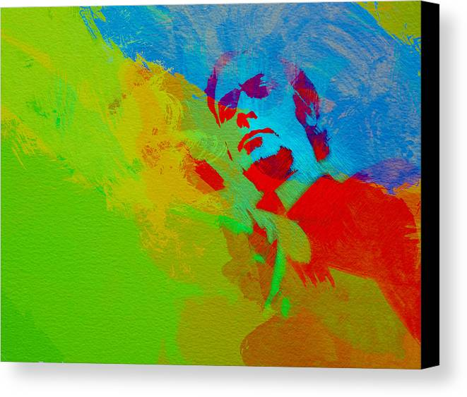 Get Carter Canvas Print featuring the painting Get Carter by Naxart Studio