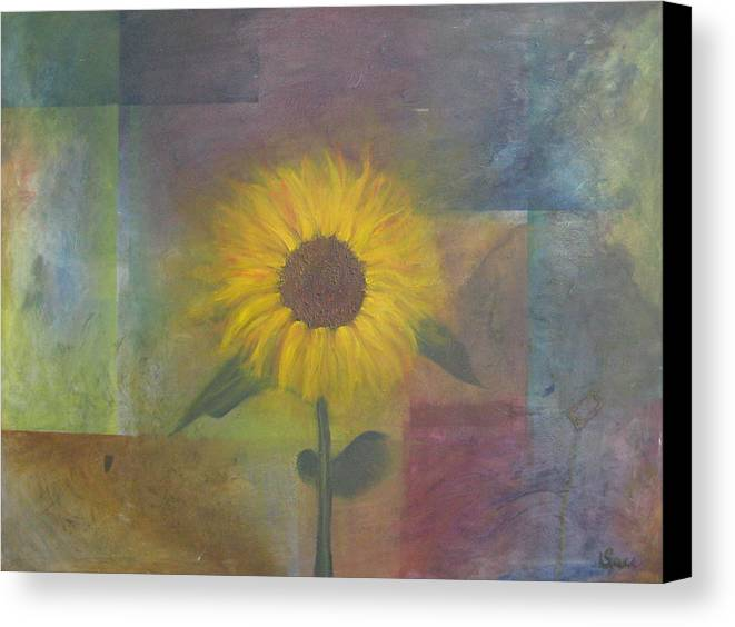 Landscape Canvas Print featuring the painting Granny B by Stephanie Cook