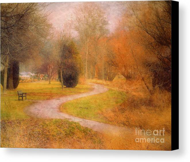 Road Canvas Print featuring the photograph January 14 2010 by Tara Turner