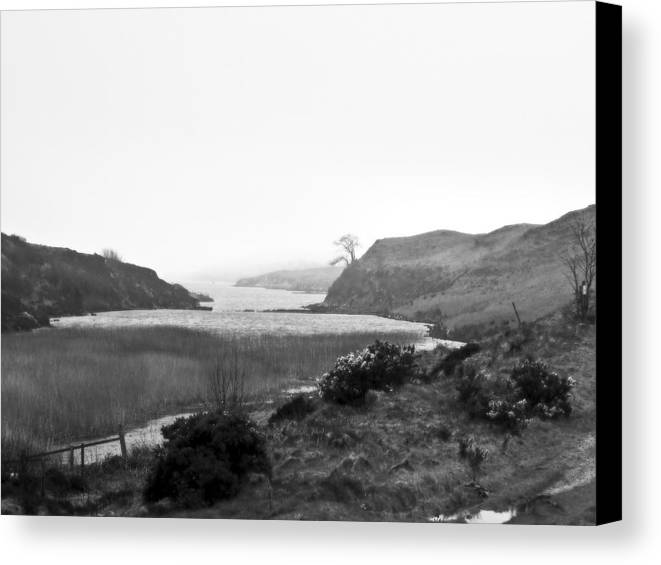 Landscape Canvas Print featuring the photograph Loch Dunvegan by Dan Andersson