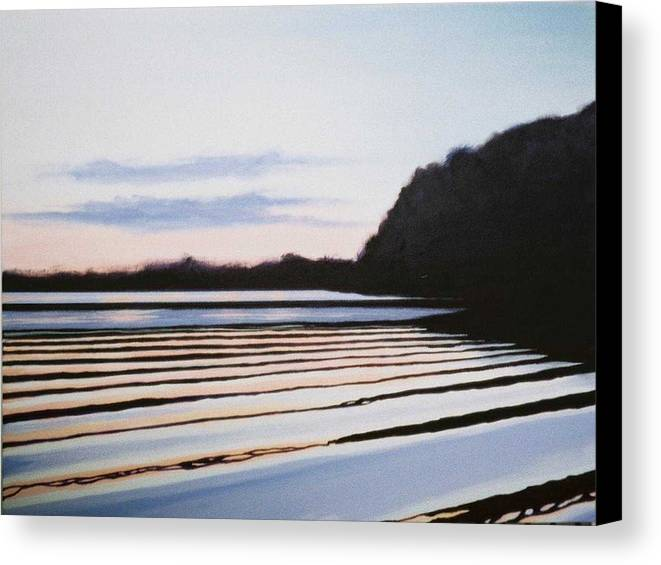 Peace Project Canvas Print featuring the painting Peace by Hunter Jay