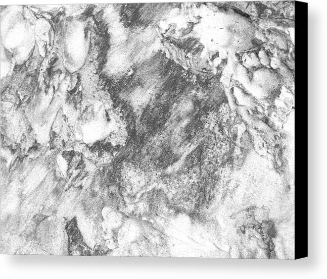 Nature Canvas Print featuring the photograph Sand 3 by Evguenia Men
