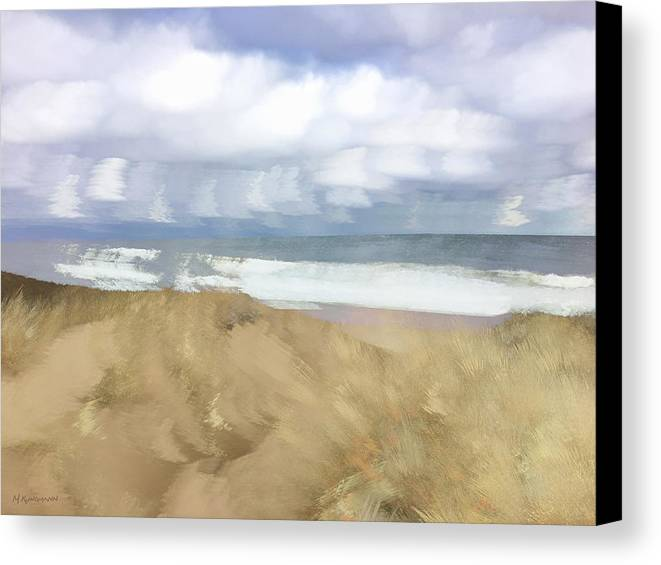 Photograph Canvas Print featuring the photograph Soft Dunegrass Dyer Hollow Truro by Marc Kundmann