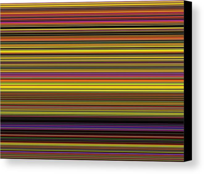 New Canvas Print featuring the digital art Spectra 10120 by Chuck Landskroner