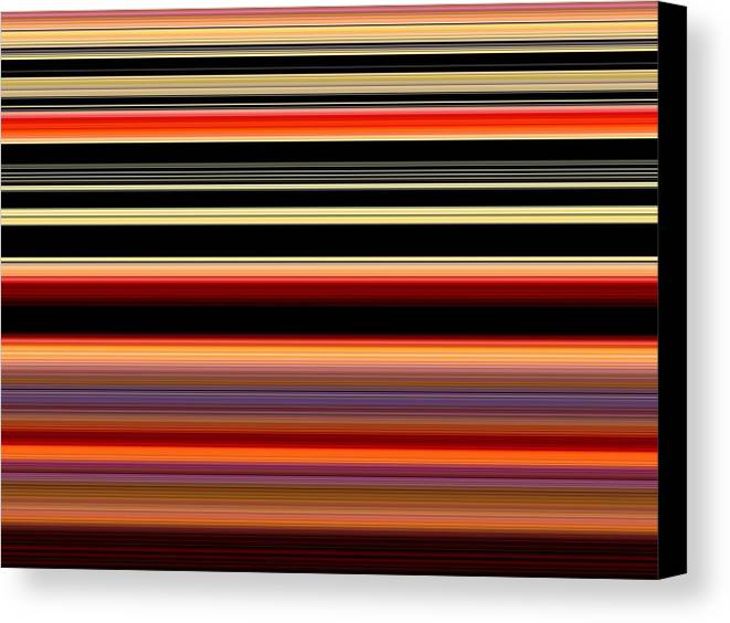 New Canvas Print featuring the digital art Spectra 10131 by Chuck Landskroner