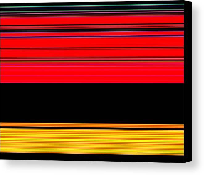 New Canvas Print featuring the digital art Spectra 10132 by Chuck Landskroner