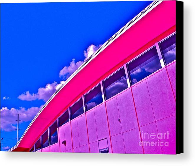 Austin Canvas Print featuring the photograph Texas State Office by Chuck Taylor