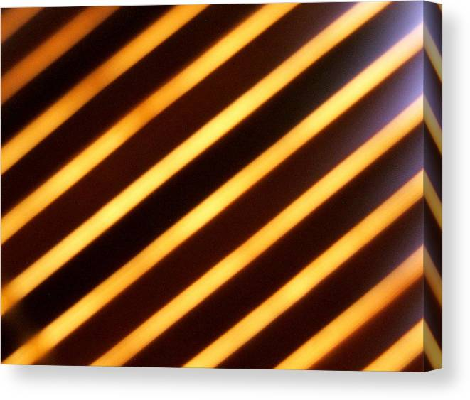 Stripes Canvas Print featuring the photograph Stripes With Style by Kevin Hogan