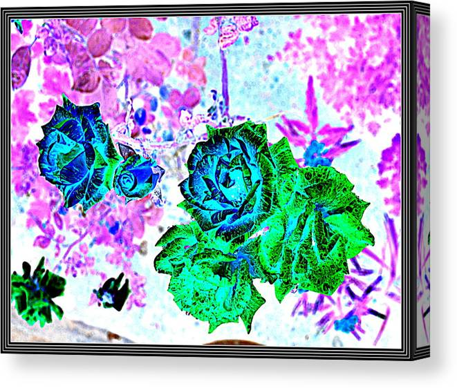Leaves---leaves Canvas Print featuring the photograph Flowers Flowers And Flowers by Anand Swaroop Manchiraju