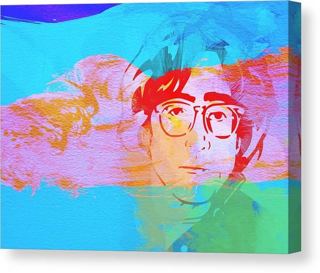 John Lennon Canvas Print featuring the painting John Lennon by Naxart Studio