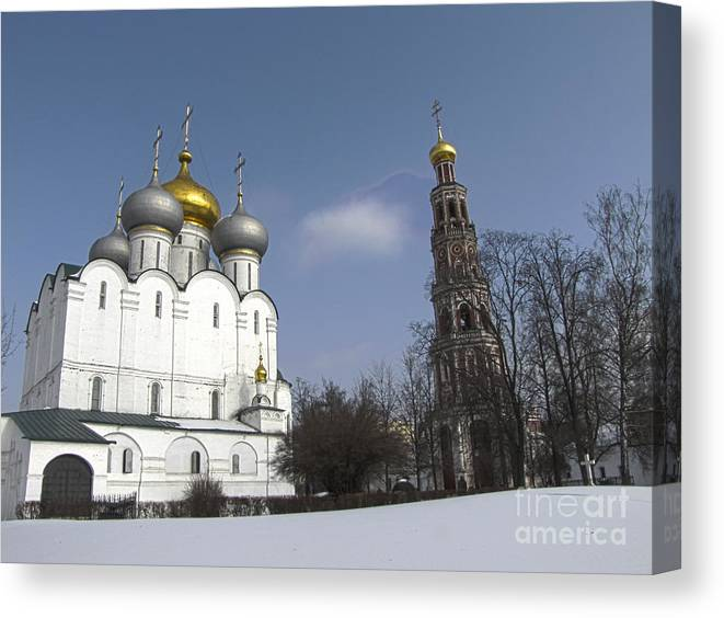 City Canvas Print featuring the photograph Near Moscow by Yury Bashkin