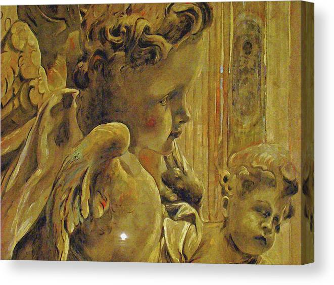 Al Bourassa Canvas Print featuring the photograph Angelic Tapestry by Al Bourassa