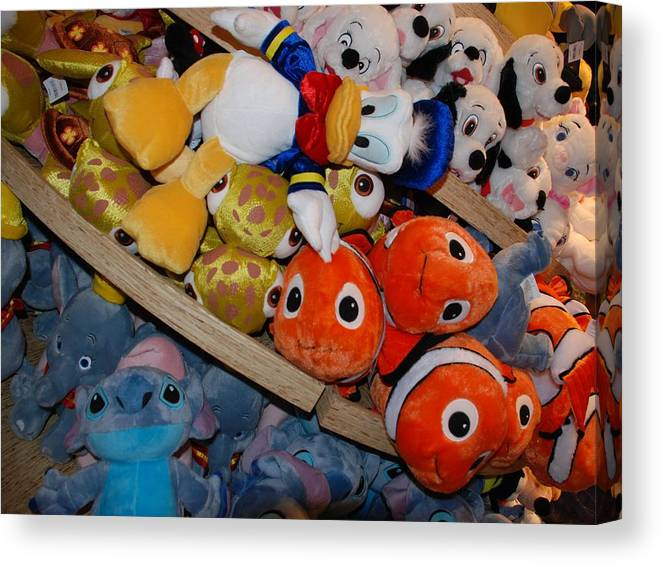 Colors Canvas Print featuring the photograph Disney Animals by Rob Hans