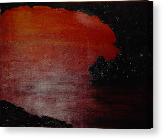Painting Canvas Print featuring the photograph Lori's World by Rob Hans