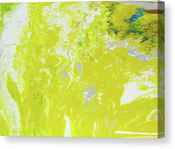 Fusionart Canvas Print featuring the painting Shine by Ralph White