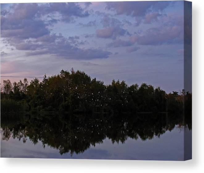 Florida Canvas Print featuring the photograph South-west Florida Sunset by Juergen Roth
