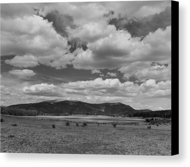 Landscape Canvas Print featuring the photograph San Juan Summer by Allan McConnell