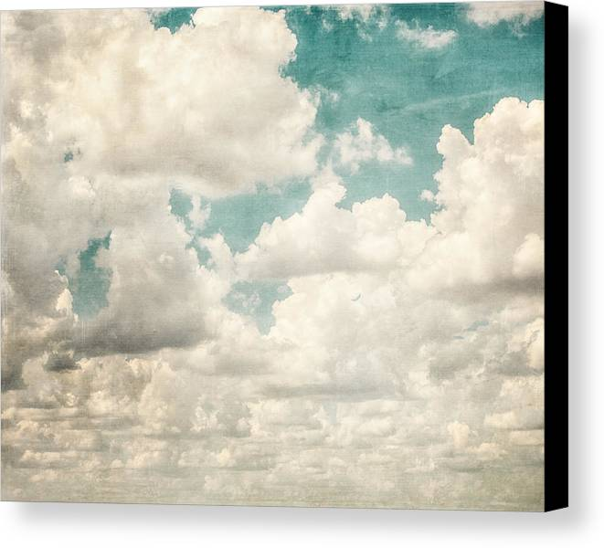 Sky Canvas Print featuring the photograph Texas Skies by Lisa Russo