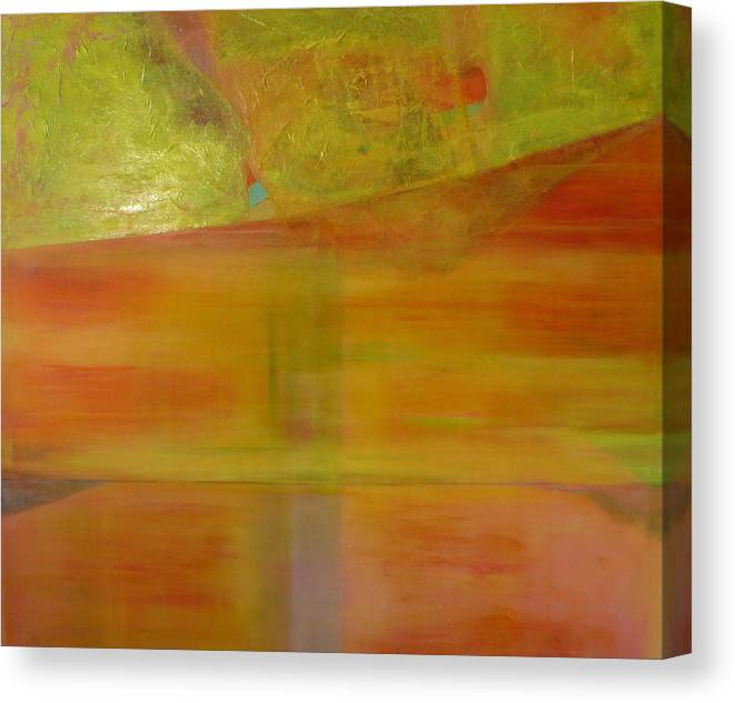 Lanscape Canvas Print featuring the print Rubi by Meltem Quinlan