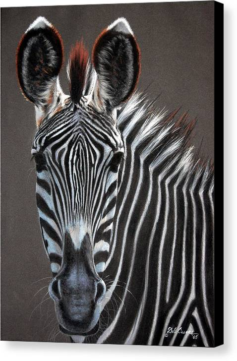 Wildlife Canvas Print featuring the painting African Beauty by Deb Owens-Lowe