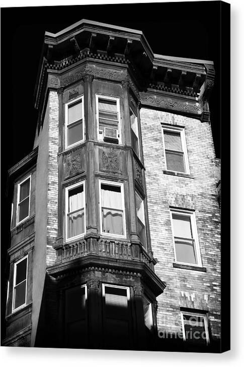 Boston Living Canvas Print featuring the photograph Boston Living by John Rizzuto