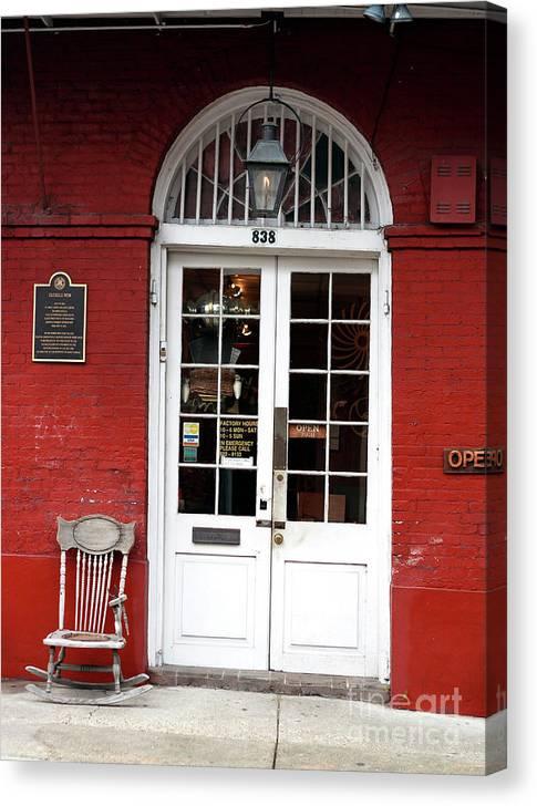 Cucullo Row Historic Marker Canvas Print featuring the photograph Cucullo Row Historic Marker by John Rizzuto