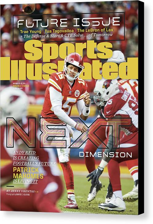 Magazine Cover Canvas Print featuring the photograph Next Dimension Andy Reid Is Creating Footballs Future Sports Illustrated Cover by Sports Illustrated