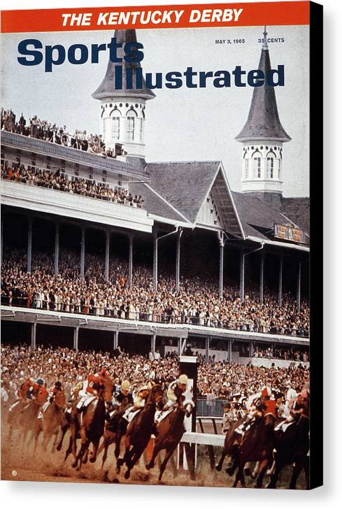 Horse Canvas Print featuring the photograph Northern Dancer, 1964 Kentucky Derby Sports Illustrated Cover by Sports Illustrated
