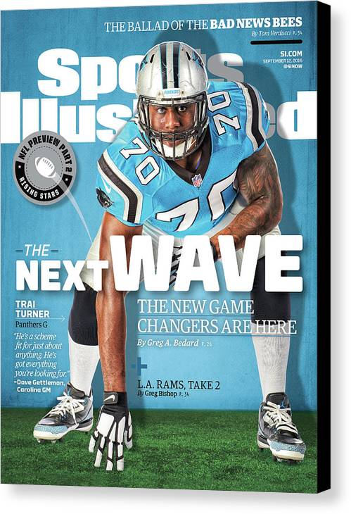 Magazine Cover Canvas Print featuring the photograph The Next Wave The New Game Changers Are Here Sports Illustrated Cover by Sports Illustrated