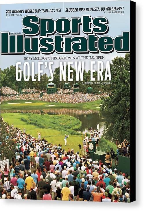 Bethesda Canvas Print featuring the photograph U.s. Open - Final Round Sports Illustrated Cover by Sports Illustrated
