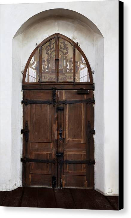 Church Canvas Print featuring the photograph Old World by Cecil Fuselier