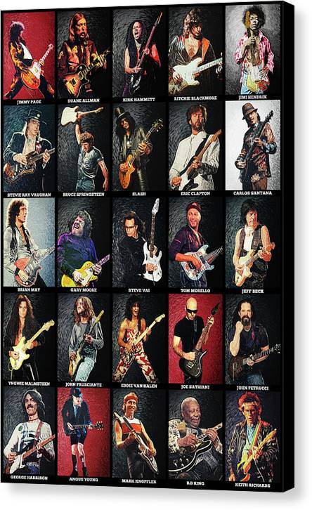 Greatest Guitarists Of All Time by Zapista