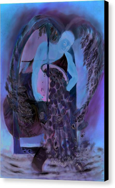Spiritual Canvas Print featuring the mixed media Malachi 3  10 by Lee Hood