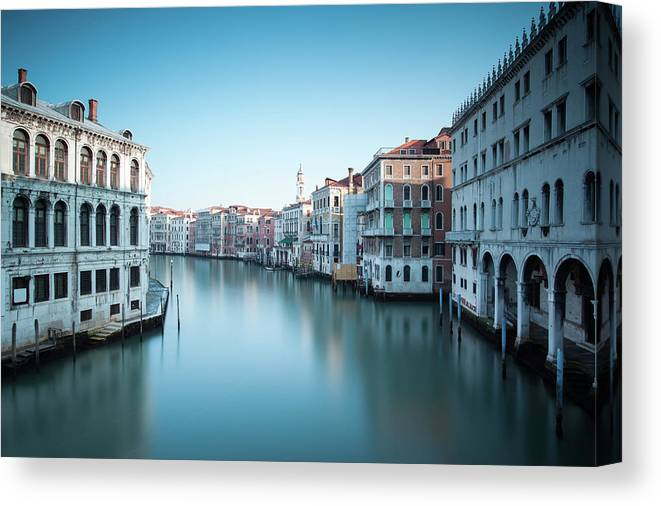 Grand Canal In Venice From Rialto Bridge Canvas Print Canvas Art By Matteo Colombo