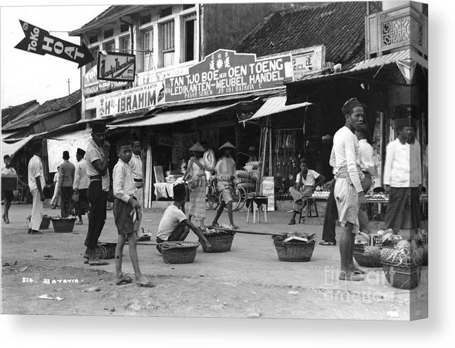 Tv Meubel Break.Java Batavia Indonesia 1932 Canvas Print Canvas Art By Nicholas