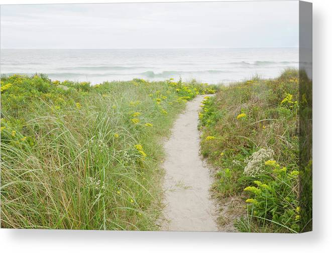 Tranquility Canvas Print featuring the photograph Usa, Massachusetts, Nantucket Island by Chuck Plante