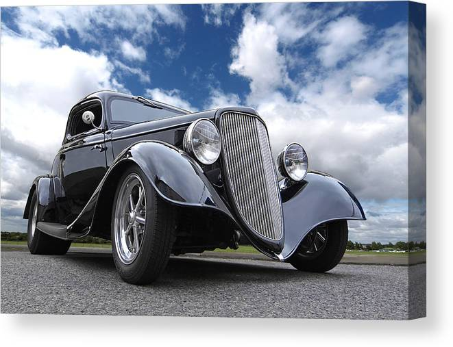 1934 Ford Coupe Canvas Print Canvas Art By Gill Billington