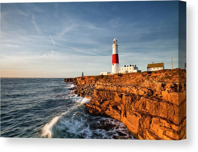 Lighthouse Portland Dorset Canvas Wall Art Picture Print