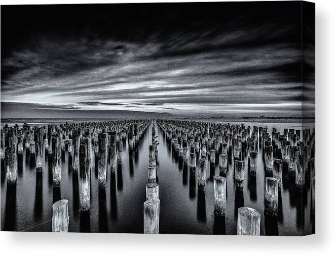 Fpier Canvas Print featuring the photograph At The Front by Andreas Agazzi