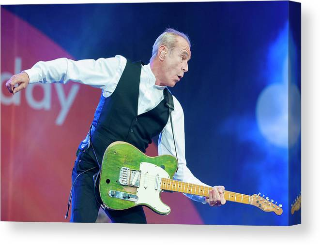 Event Canvas Print featuring the photograph Bbc Radio 2 Live In The Park by Neil Lupin