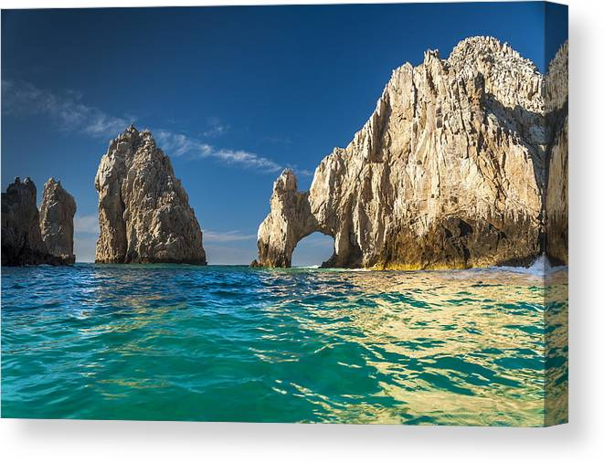 Los Cabos Canvas Print featuring the photograph Cabo San Lucas by Sebastian Musial