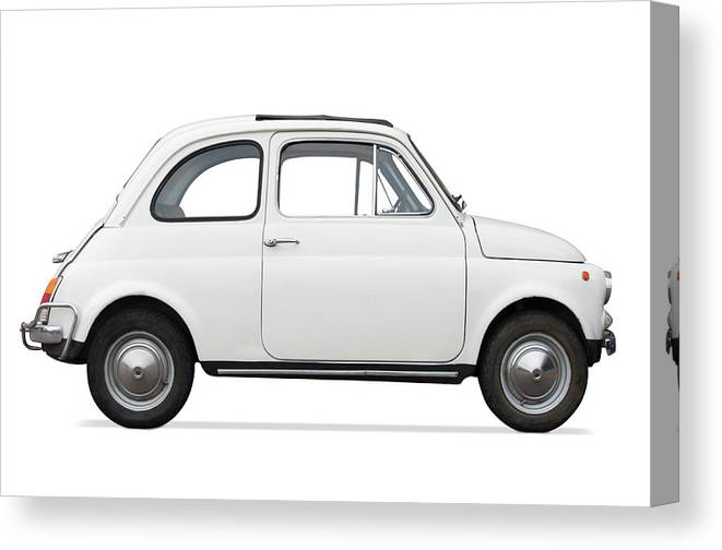 1950-1959 Canvas Print featuring the photograph Classic Car by Lalocracio