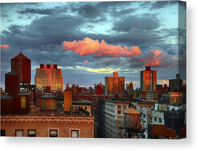Tranquility Canvas Print featuring the photograph Facing East by Joe Josephs Photography