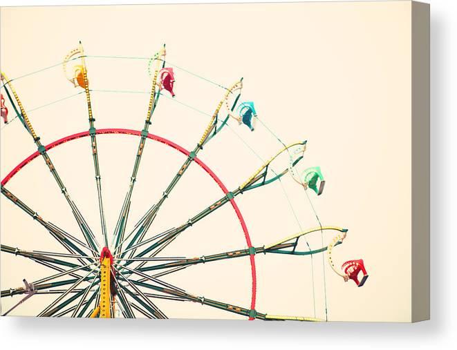 Carnival Canvas Print featuring the photograph Ferris Wheel Fun by Kim Fearheiley